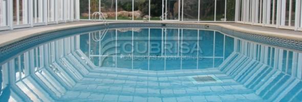 Cubiertas para piscinas climatizadas cubiertas para piscinas cubrisa - Piscina cubierta alicante ...