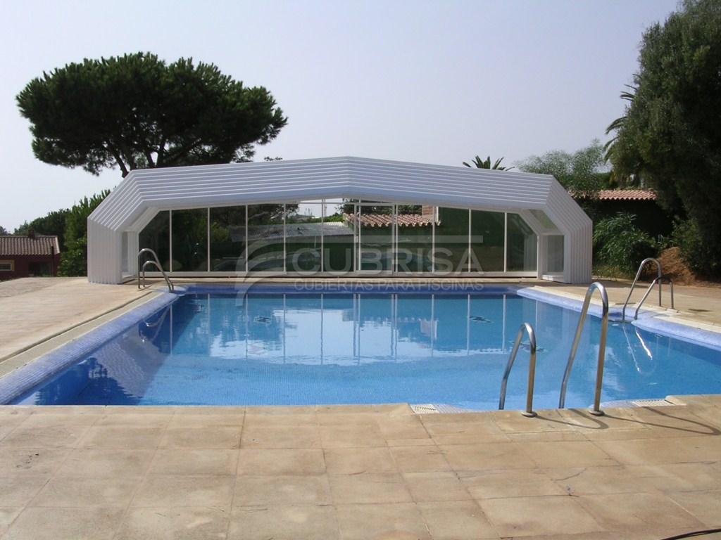 Modelo alicante cubiertas para piscinas cubrisa for Cubiertas de piscinas pipor
