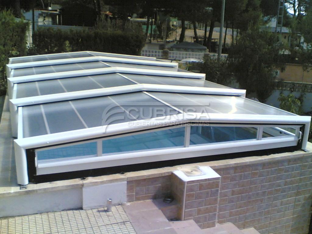 Modelo marina baja cubiertas para piscinas cubrisa - Cubierta de piscina ...