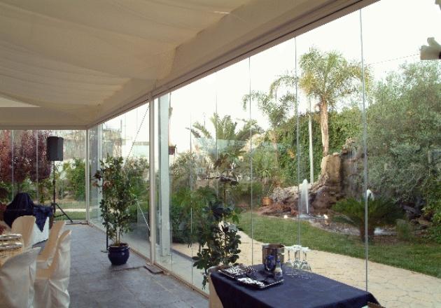 Cerramientos sin perfiles para terrazas cubiertas para - Cubiertas de terrazas ...
