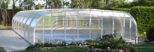 En enero su cubierta de piscina al mejor precio con for Precios de cubiertas para piscinas